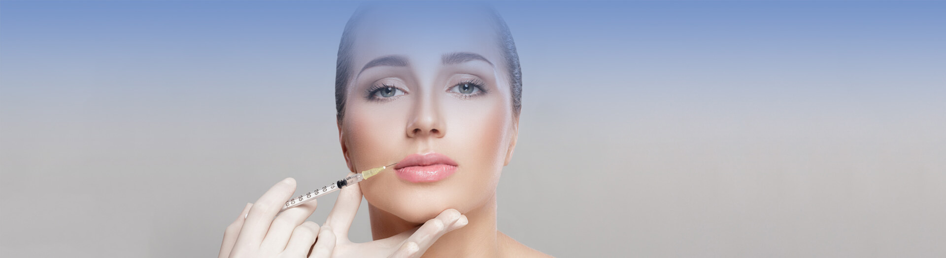 Woman getting Juvederm treatment